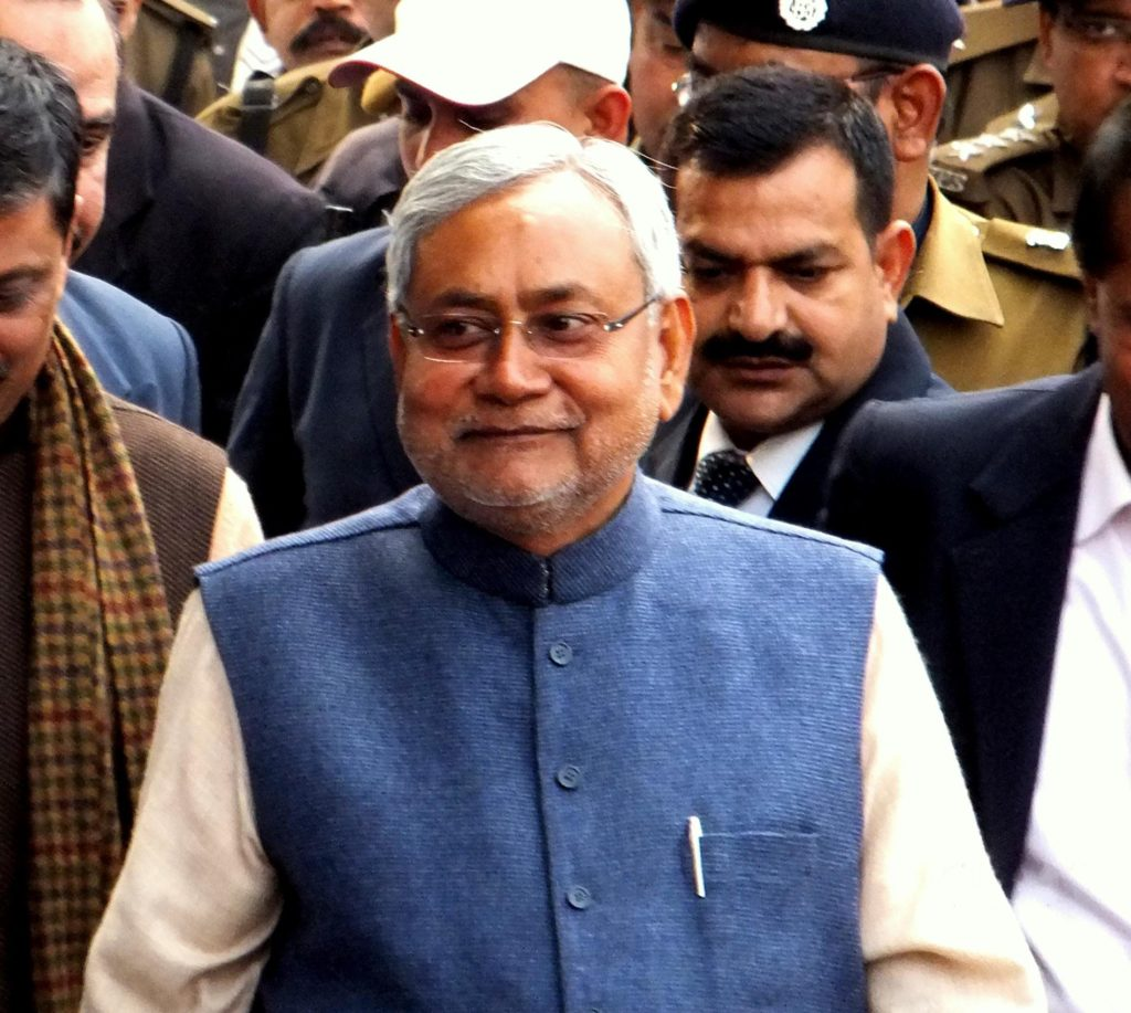 Nitish Kumar joined hands with BJP and became the chief minister for the sixth time