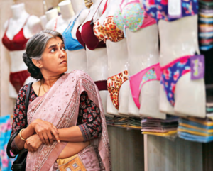 Plabita Borthakur (à gauche) et Ratna Pathak (à droite) dans « Lipstick Under My Burkha »