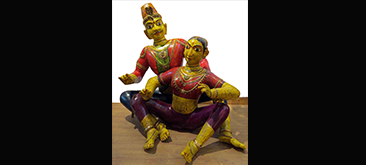 Traditional dolls from Karnataka