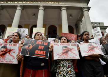 'Not in My Name' protests in India