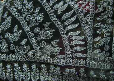 Five hand stitched embroidery styles from India