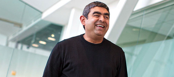 Vishal Sikka was known as the CEO who walked barefoot on the grass lawns of the office premises