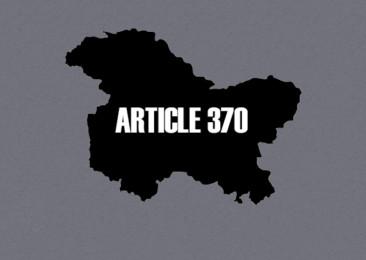 Article 370 no more?