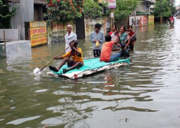 Soaring air fares in flood-hit Bengal