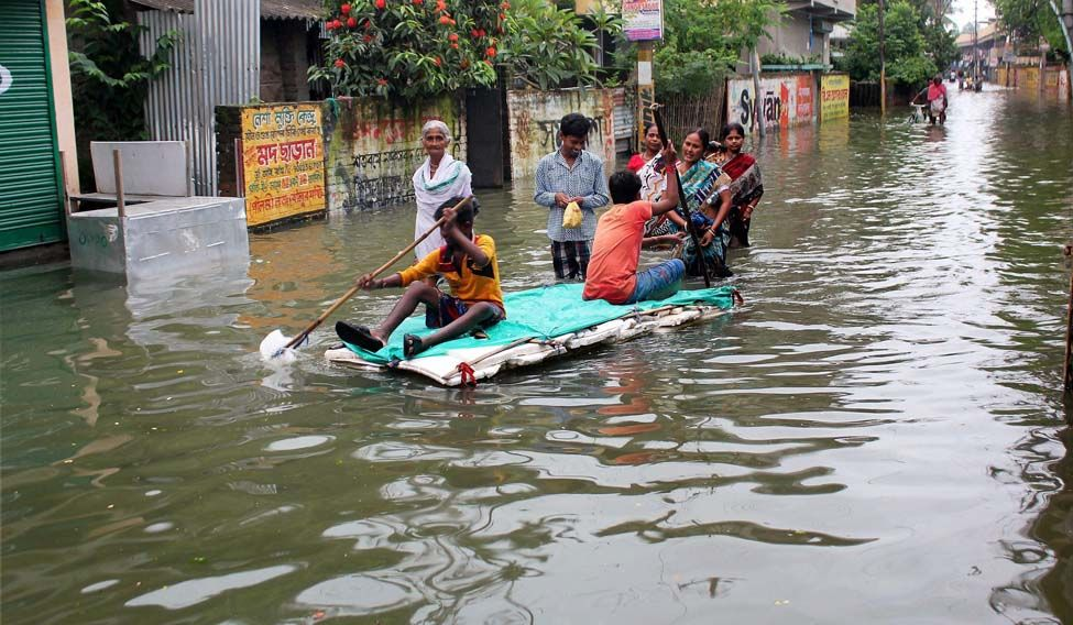 The floods have left North Bengal devastated and claimed several lives