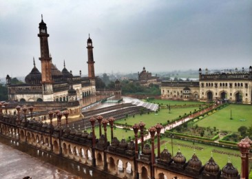 The magnificence of the Bara Imambara in Lucknow