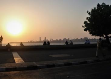 Walking through South Mumbai