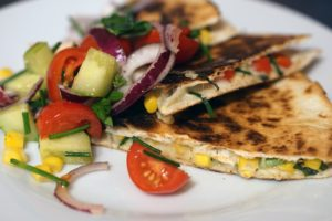 Quesadillas are a popular dish for many