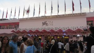 The annual Venice film festival wrapped up this weekend. Photo: By Gianni Torre from Venice, Italy (74 Venice Film Festival - 2 September 2017) [CC BY-SA 2.0 (http://creativecommons.org/licenses/by-sa/2.0)], via Wikimedia Commons