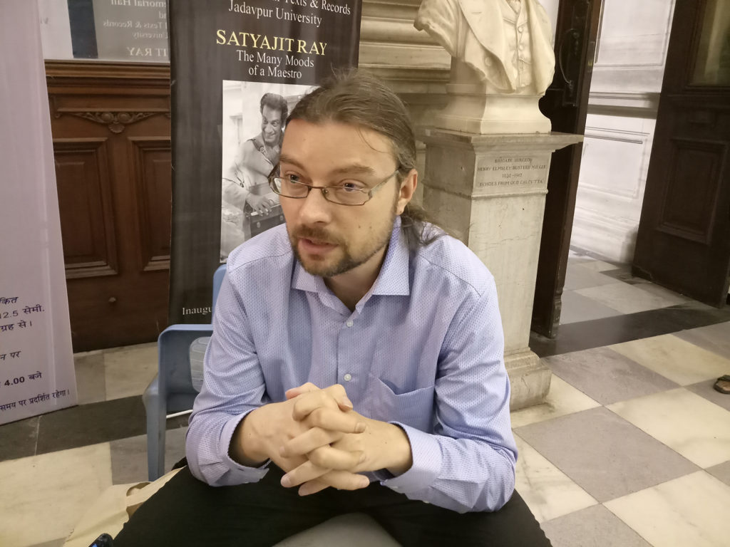 Dr. Martin Hříbek believes that Durga Puja is like a window into the culture
