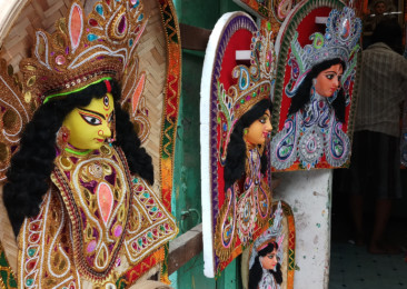 A different shade of Durga Puja