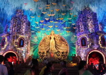 Glimpses from Durga Puja 2017