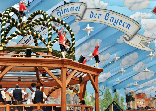 Beer festivals are a chance for people to sip some of the finest beer brewed in a traditional fashion by Germans