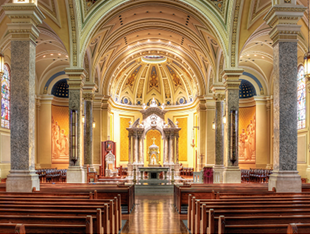 Experience spirituality at the Cathedral of Immaculate Conception
