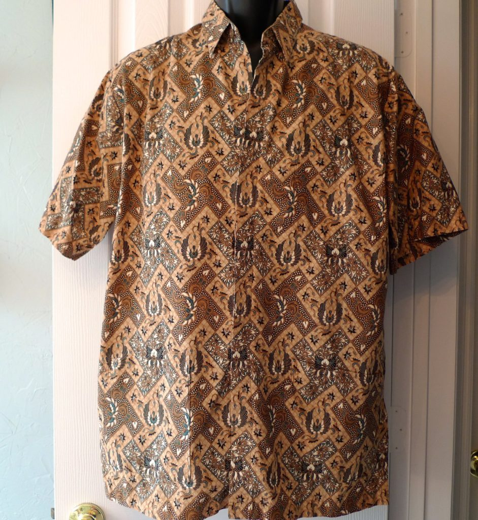 A classic Batik shirt from Indonesia
