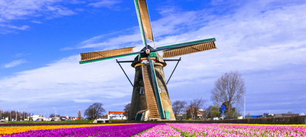 Holland has a separate theme for each of its tourist destinations