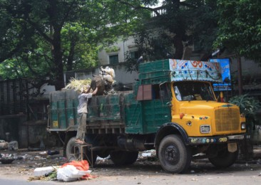 India suffocates beneath its own waste