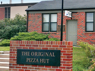 Visit the original Pizza Hut