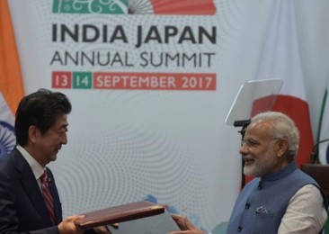Indo-Japanese relations turn a new page
