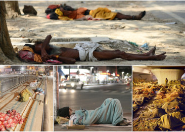 Urban homeless in India