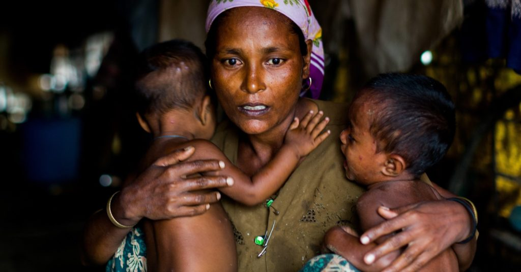 Rohingyas in India, now face the threat of 'deportation' - even as Myanmar refuses to recognise them as citizens (PC by Asanka Brendon Ratnayake/Anadolu Agency/Getty Images)