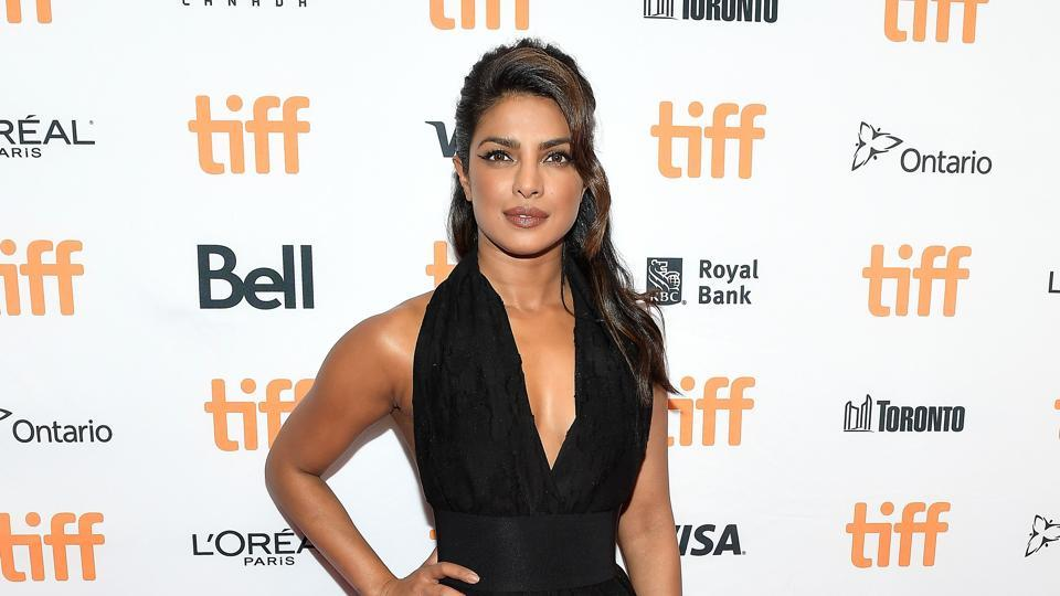 Priyanka Chopra attended the TIFF Soiree during the 2017 Toronto International Film Festival at TIFF Bell Lightbox Photo: Hindustan Times
