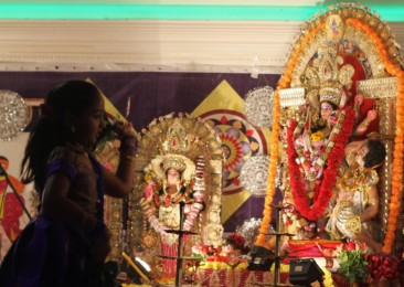 Durga Puja celebrations in London