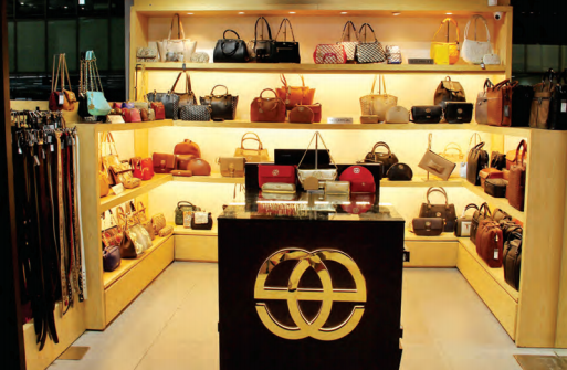 Duty-free shops at airports