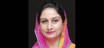 Harsimrat Kaur Badal, Union Minister of Food Processing, Govt. of India