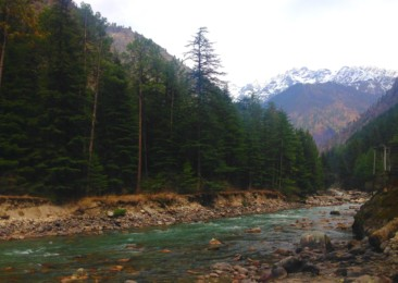 The Himalayan town of Kasol
