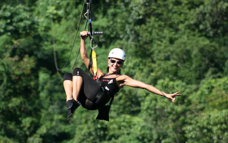 Tourists are treated to a wide range of adventure activities in the Caribbean island