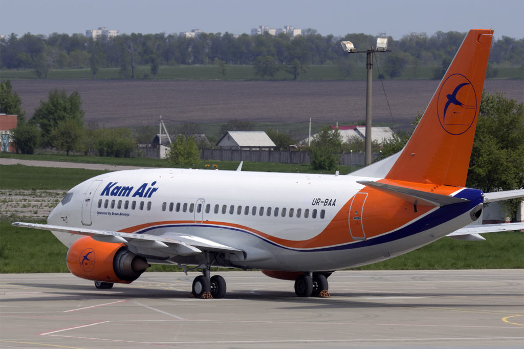 Kam Air launches two new flights to run between Afghanistan and India