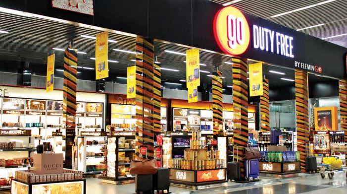 Kolkata AAI Airport Duty free shop