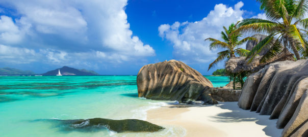 Seychelles is an attractive island destination in East Africa