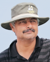 VIVEK MENON, Executive director and CEO of Wildlife Trust of India