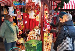 Viennese Christmas Market, Austria