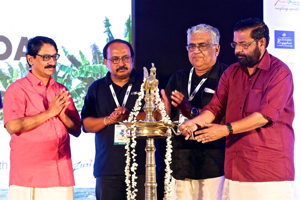 The event was inaugurated by Kadagampally Surendran, Minister of Tourism, Govt of Kerala along with Satyajeet Rajan, Director General Tourism, Ministry of Tourism, Government of India and Dr. V. Venu, IAS, Principal Secretary Tourism, Government of Kerala
