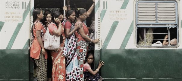 The regular story of women travelling in local trains in Kolkata