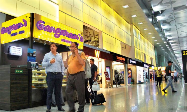 Food and beverage establishments and more shops at airports