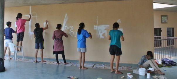 Students at Shyadri School of alternative learning (Source-Shyadri School)
