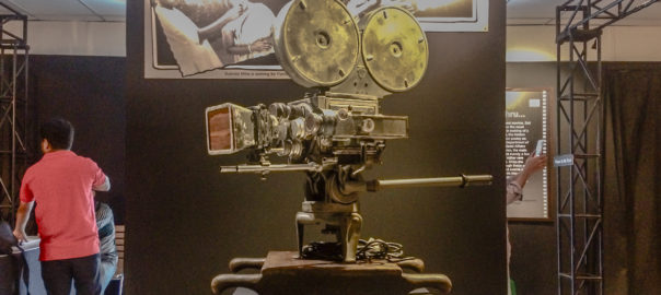 Mitchell's 35mm vintage motion picture camera was used for the shooting of Pather Panchali by Satyajit Ray