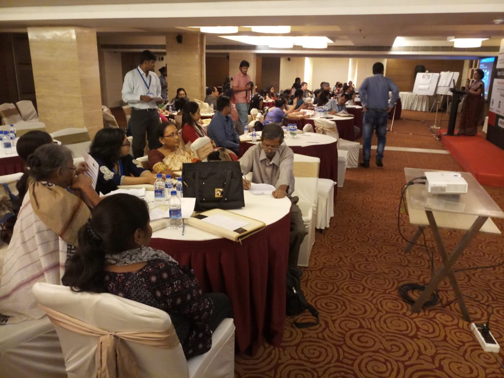 People attending the workshop at The Sonnet, Kolkata