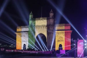 Brussels dance with Mumbai held at Gateway of India
