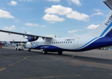Indian airline takes delivery of its first ATR aircraft