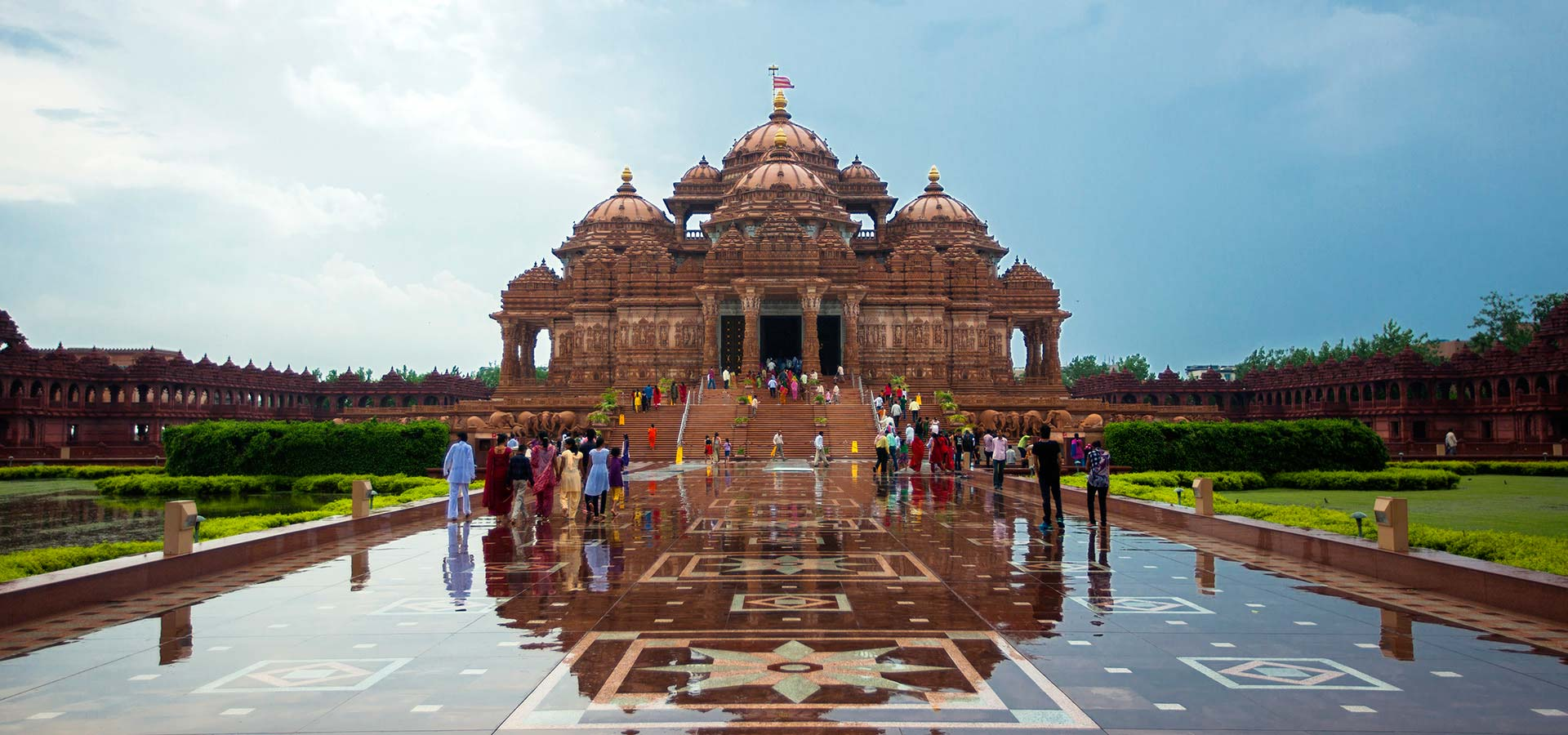 Swaminarayan Akshardham Temple in New Delhi