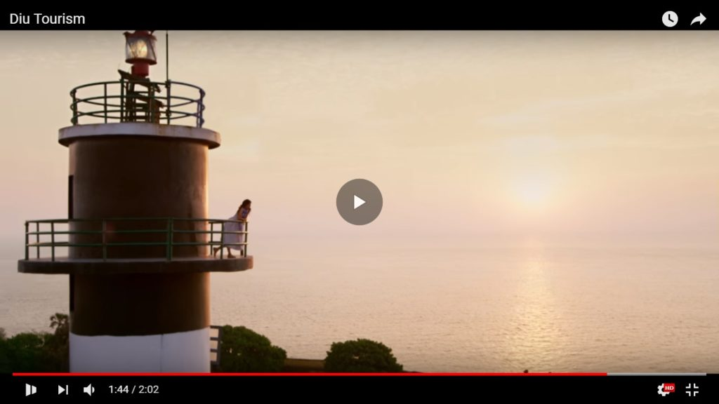 A still from the Diu tourism ad