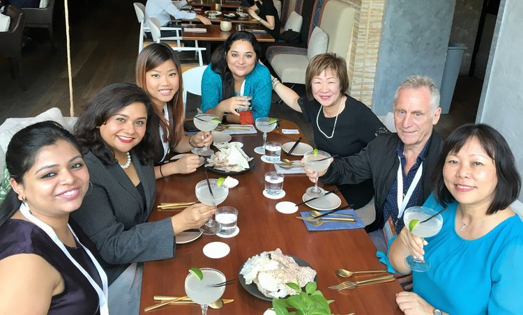Media Lunch during the latest ITB Asia