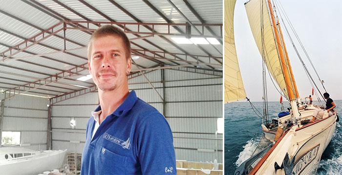 Nathanaël Mallard ; deux voiliers sortis des chantiers Ultramarine