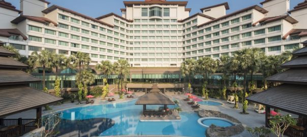 An outsourced project in Myanmar- Sedona Hotel and Suites