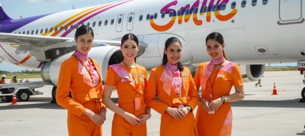 All smiles for Thai Smile airways